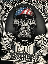 VTG.TAPOUT MAKE THAT WORK AMERICAN GANGSTER Simply Believe Mens RARE T-shirt 3XL