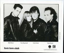 Tom Tom Club 8 x 10 Glossy promo Photo 1989 Sire Boom Boom Chi