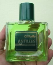 GILLETTE AFTER SHAVE ANTILLES VINTAGE 100 ML RARO PROFUMO UOMO RARE PERFUME MEN
