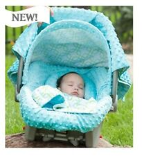THE WHOLE CABOODLE CARSEAT CANOPY BABY CAR SEAT COVER 5 PC SET NEW ~ HAYDEN ~