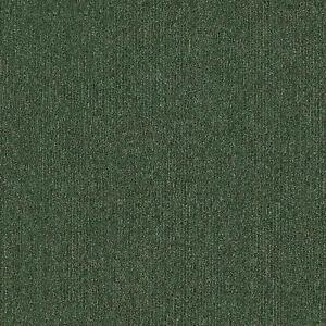 Forest Leaf Green Heavy Duty Carpet Floor Tile 20 Box 5m2 Loop Pile Home Office