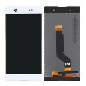 WHITE LCD Panel Screen Digitizer Complete Replacement For Sony Xperia XA1 Ultra