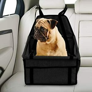 PaWz Pet Car Booster Seat Puppy Cat Dog Auto Carrier Travel Protector Black