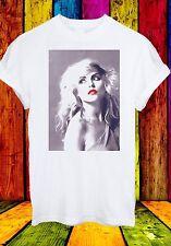 Debbie Harry Blondie Singer Rock Pop Disco Music Men Women Unisex T-shirt 69