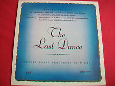MOTOWN PRESENTS - THE LAST DANCE - 20 GREAT SMOOCHERS UK LP - EXCELLENT