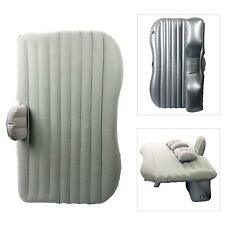 Silver Inflatable Car Travel Mattress Universal Bed Camping with Two Air Pillows
