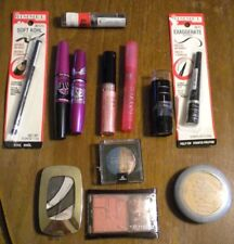 LOT OF 12  ASSORTED MAKE UP-NYC, MAYBELLINE, L'OREAL, RIMMEL & REVLON