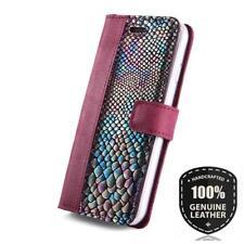 SURAZO® Premium Echtes Ledertasche Schutzhülle Nubuk Wallet Case - Zwei Farben