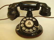 Antique Original 1920s  Round Western Electric 102 Telephone Works!