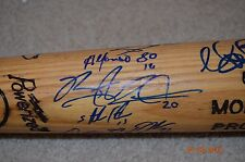CHICAGO CUBS SIGNED GAME USED TEAM BAT - SPRING TRAINING 2013