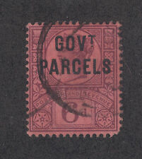 Great Britain SG O66 used 1887 6p GOV't PARCELS ovpt on QV