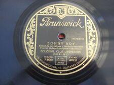 (9961) Colonial Club Orchestra - Sonny boy - Blue night - 1929