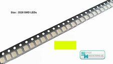 Pack of 100 Yellow Green 1210 PLCC-2 3528 SMD SMT LED Light Chip