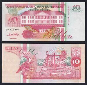 Suriname 10 gulden 1996 FDS-/UNC-  A-02