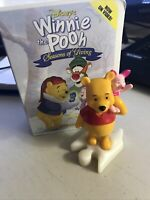 McDonald's Happy Meal Disney WINNIE THE POOH Seasons of Giving Figurine Toy