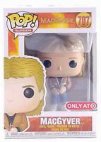 New Funko Pop Television Macgyver #707 Target Exclusive In Hand