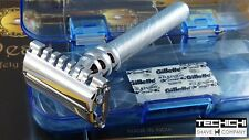 Pearl SBF-12 Twist To Open/Open Comb Double Edge Razor