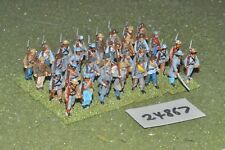 25mm ACW / confederate - regiment (plastic) 32 figures - inf (24867)