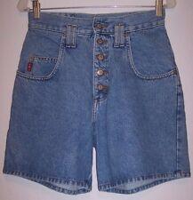 LEI Denim Shorts S M Grunge Revival SUPER High Waist Denim Mom Jeans Short Pants