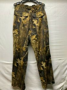 Columbia PHG Pants Omni Tech Xl Camo Waterproof Hunting drake banded waterfowl