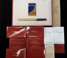 Rare Limited Edition S.T. Dupont Europa Lighter and Pen Set #918/4000