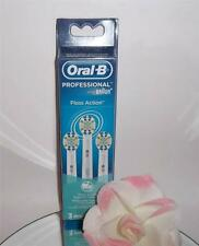 3 Pack Oral-B Floss Action Replacement Brush Heads Toothbrush Refills