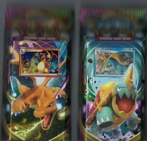 Pokemon Sword & Shield Vivid Voltage-Theme Decks- Lot of 2 - Charizard & Drednaw