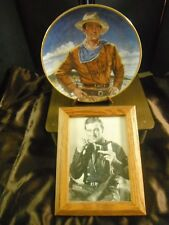 Franklin Mint John Wayne Collectors Plate ( The Duke ) with Picture
