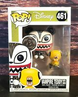 Funko Pop! Disney:Nightmare Before Christmas-Vampire Teddy with Undead Duck #461