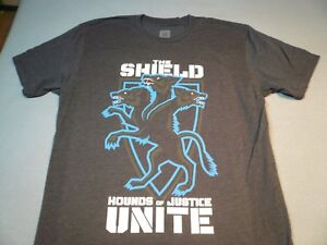 """WWE The Shield """"Hounds of Justice Unite"""" BRAND NEW t-shirt NWOT Wrestling"""