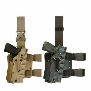 Tactical Hunting Platform Right Left Hand Drop Leg Hoster For Glock/Colt 1911/M9