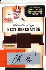 charlie frye auto autograph jersey patch browns akron zips 5/5 2006