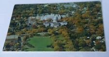 Vintage postcard aerial view State Capitol Building  area Augusta Maine