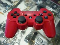 SONY PLAYSTATION 3 DUALSHOCK 3 SIXAXIS WIRELESS CONTROLLER IN RED - AU STOCK