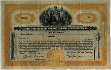 Prairie Pipe Line Company Stock Certificate Kansas