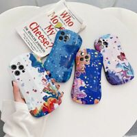 For iPhone 12 Pro Max 11 7 8 Plus XS Max XR Case Girl Art Shockproof Phone Cover