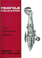 HAWKER HART: PROFILE #57/ 12 PAGES + 6 NEWLY ADDED/ NEW-PRINT FACSIMILE ED
