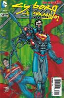 Action Comics #23.1 2011 3D Lenticular Cyborg Superman Cover DC 1st print New 52