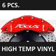Ford Focus Premium Brake Caliper Decals Stickers Emblem Logo