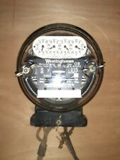 Vintage/Antique 1919 Westinghouse style Ob Meter 5A 115v working