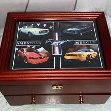 New ListingBradford Exchange Ford Mustang American Muscle Strong Box