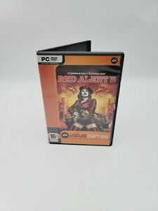Command and Conquer: Red Alert 3 (PC Game DVD-ROM, 2008) Disc Only