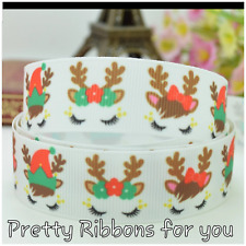 """Unicorns  7/8"""" wide grosgrain ribbon the listing is for 5 yards"""