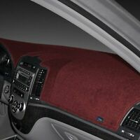For Fiat 124 Spider 17-20 Dash Designs Poly-Carpet Maroon Dash Cover