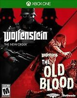 New Sealed Wolfenstein: The Two-Pack The New Order and Old Blood - Xbox One jy