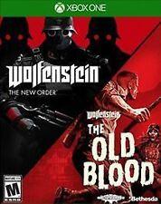 Wolfenstein: The New Order/Wolfenstein: The Old Blood (Microsoft Xbox One, 2017)