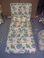 Ballard Designs Outdoor Chaise Box Cushion Sunbrella Canopy Stripe 24x78 fc205