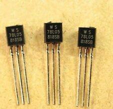 50PCS WS78L05 78L05 WS TO-92 5V 100mA Voltage Regulator IC NEW
