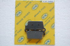 REAR BRAKE PADS YAMAHA YZ 125 250 450, 2003-2017 YZ125 YZ250 YZ450 YZ250F YZ450F