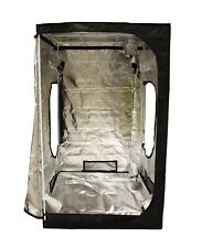 Portable Grow Tent – Thick Foil Silver Mylar Hydroponic Dark Room 1.2mx1.2mx2m